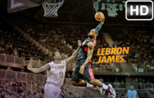 LeBron James – King James Wallpaper HD New Tab