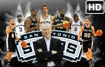 NBA San Antonio Spurs Wallpapers HD New Tab Theme - Sportify Tab 5ee20bb8b3f