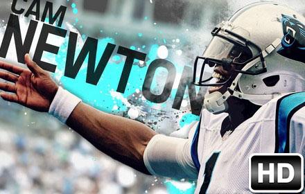 NFL Cam Newton Wallpaper HD New Tab Themes | Sports ...