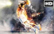 NBA Russell Westbrook Wallpaper HD New Tab
