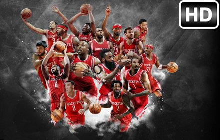 NBA Houston Rockets Wallpaper HD New Tab Sports